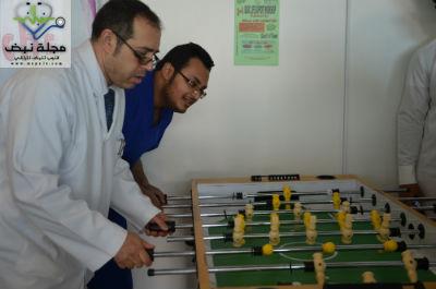 11 جانب من البرنامج الرياضي ومشاركة د.عمرو فؤاد