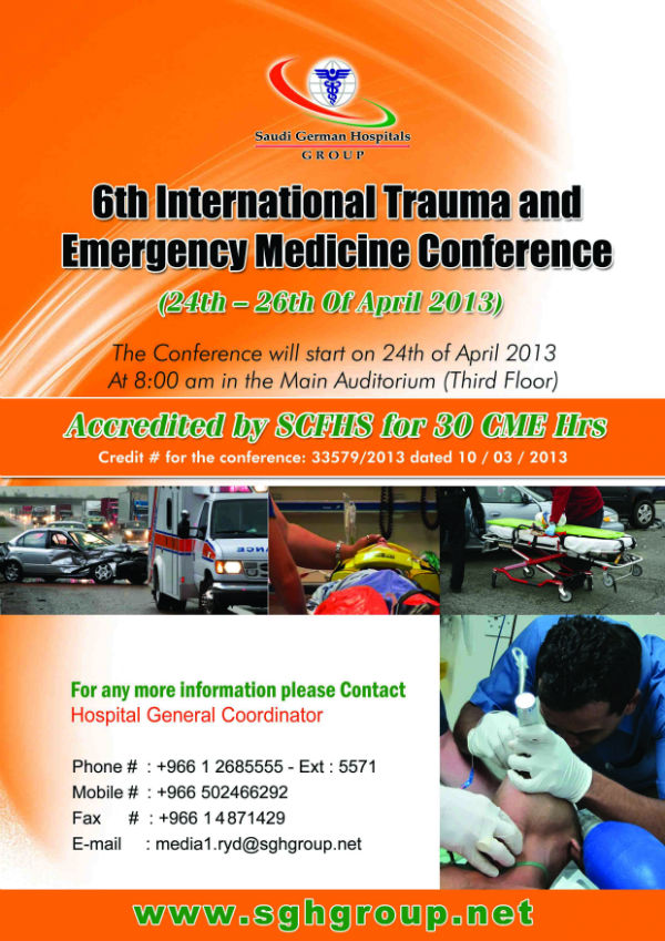 6th International Trauma and Emergency Medicine Conference