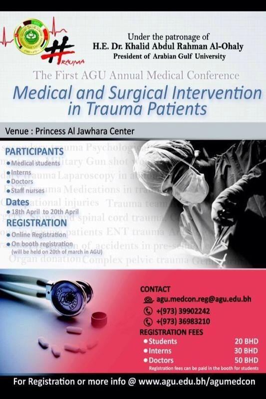 Medical & Surgical Intervention in  Trauma Patients