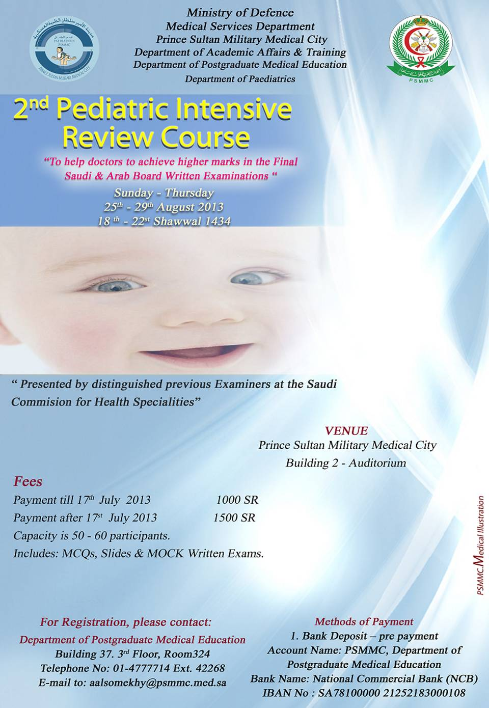 2nd Pediatric Intensive Review Course