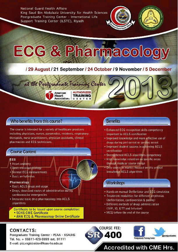 & Pharmacology Courses 2013 ECG-Pharmacology-Courses-2013.png