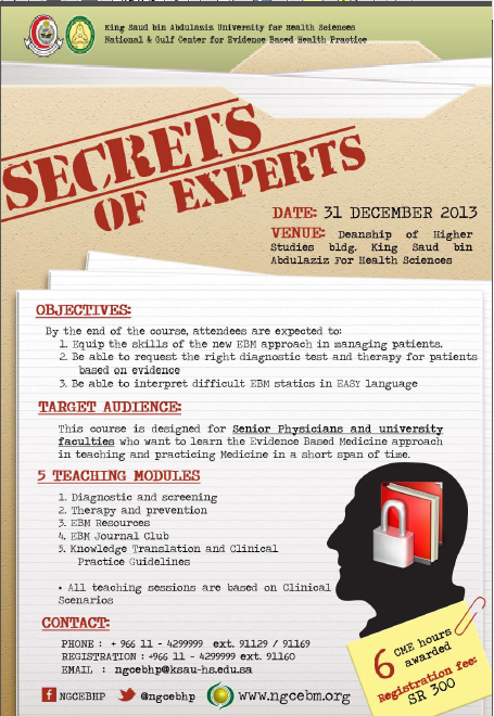 Secrets of Experts
